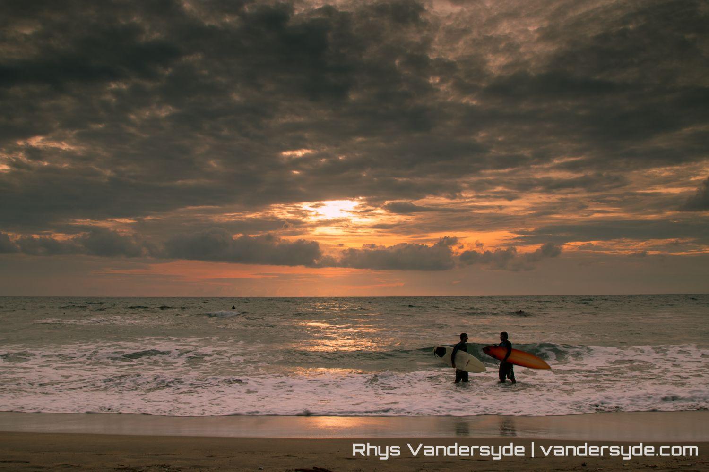 Kuta Beach Sunset - Bali, Indonesia