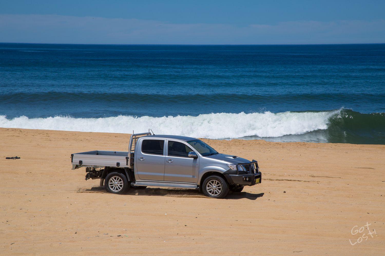 Driving on Sand - Stockton Beach, Newcastle
