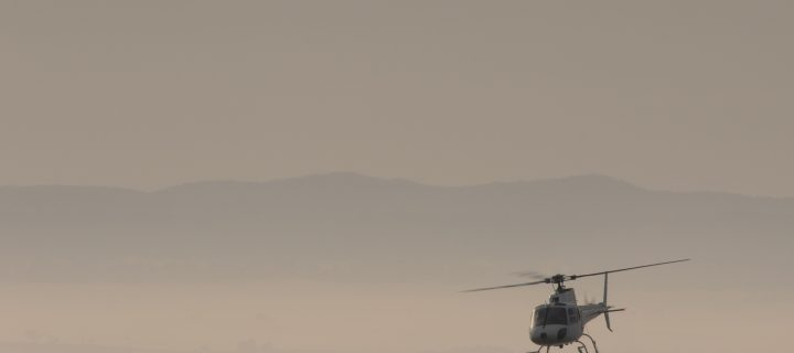 Helicopter in the Fog – The Story Behind The Photo