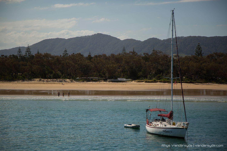 Sail Boat - Coffs Harbour