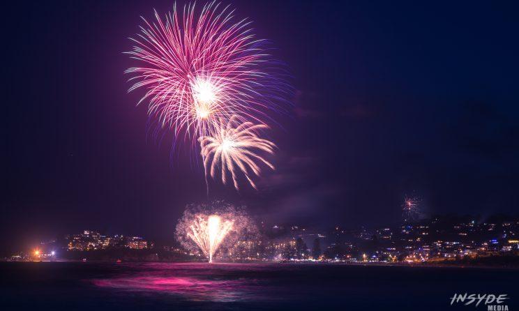 Terrigal Beach NYE Fireworks