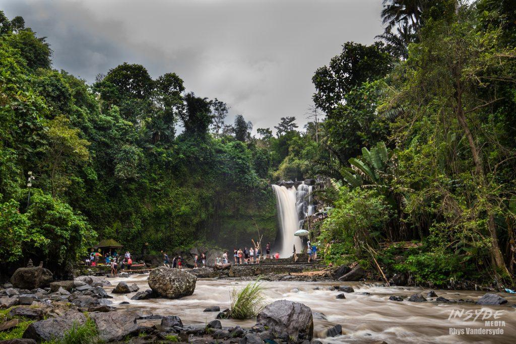 Tegenungan Waterfall, Ubud
