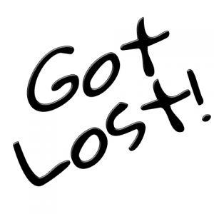 Got Lost!