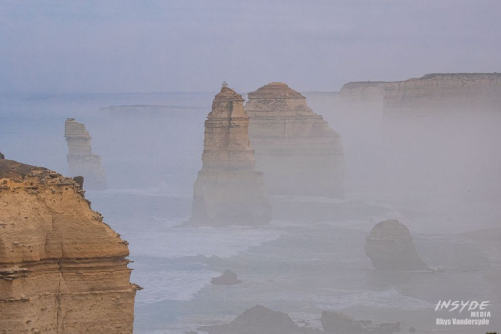 One of the most famous landscapes in Australia, the Twelve Apostles